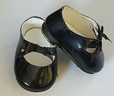 American Girl Emily's Molly's Dance BLACK TAP SHOES free shipping