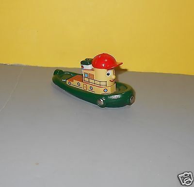 BRIO Wooden Railway Train System Moving Eyes Theodore The Tugboat Toy
