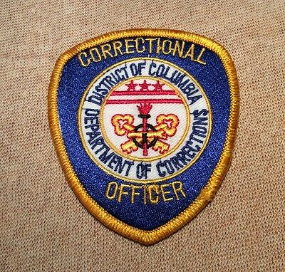 D.C. District of Columbia Department of Corrections Patch (3.5In)