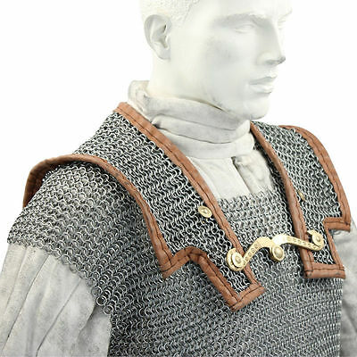 Roman Hamata large ~ 9mm butted chainmail Medieval Armor