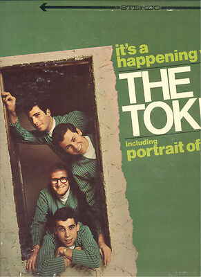 """THE TOKENS It's A Happening World WARNER USA 12"""" LP"""