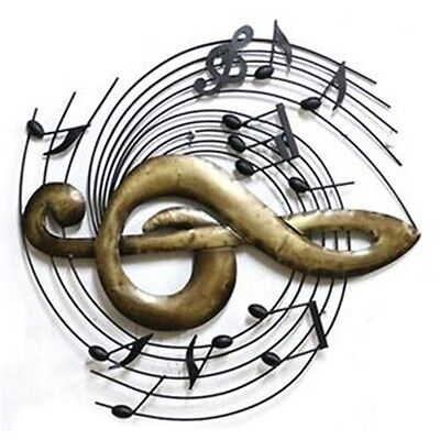 Exquisite America Instrument Iron Wall Hanging Decoration   musical note
