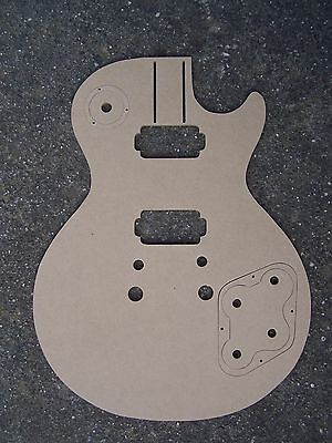 LP Style Guitar Body Shape Template 6mm MDF Guitar Making Template