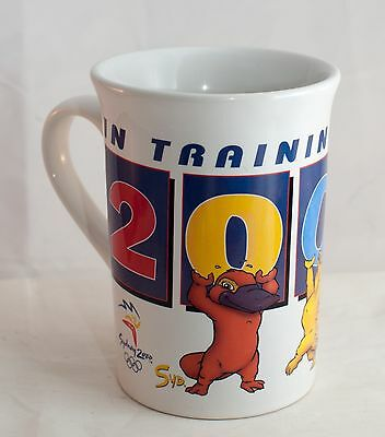 Sydney 2000 Olympic Games Collector Coffee Mug In Training for Syd Millie Olly