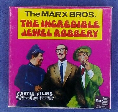 Super 8 movie the Marx Bros. The Incredible Jewel Robbery