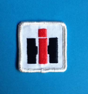 International Harvester Tractors Equipment Farm Hat Workshirt Patch Crest B