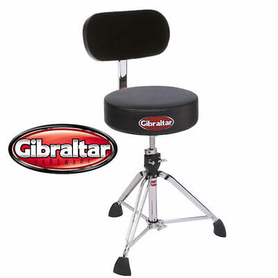 Gibraltar 9608 Professional Drum Throne with UBR Universal Back Rest Stool