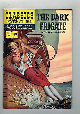 CLASSICS ILLUSTRATED COMIC No. 12 The Dark Frigate HRN 129