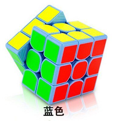 MoYu Weilong GTS 3x3 Speed Cube Magic Cube Puzzle Educational Toy Color Blue
