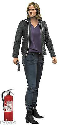 Color Tops Red Fear Walking Dead Tv Madison 7In Action Figure - New/boxed - Sale