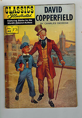 CLASSICS ILLUSTRATED COMIC No. 48 David Copperfield HRN 126