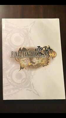 Final Fantasy Type 0-HD Collector's Edition Strategy Guide Hardcover SEALED
