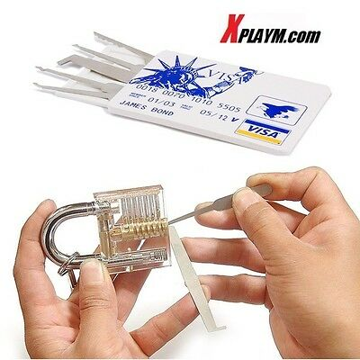 pic Best 5 in1 Lock smith Brand Best Credit Card Car Tool Train