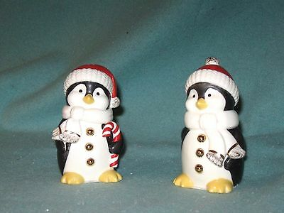 Lenox Lenox Chilly Chap Penguin Salt And Pepper Shakers New MIB