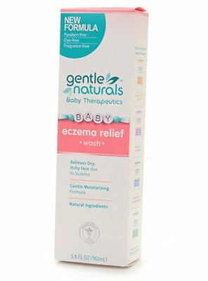 Gentle Naturals Baby Therapeutics BABY ECZEMA RELIEF WASH 5.5oz NIB
