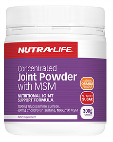 Nutra Life Concentrated Joint Powder with MSM