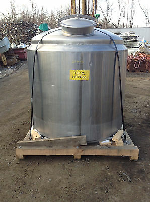 Cherry-Burell WPB Stainless Steel Insulated 668 Gal. Batch Process Sanitary Tank