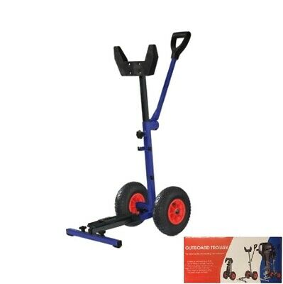 Folding Outboard Engine Trolley UP-TO 15hp Outboards
