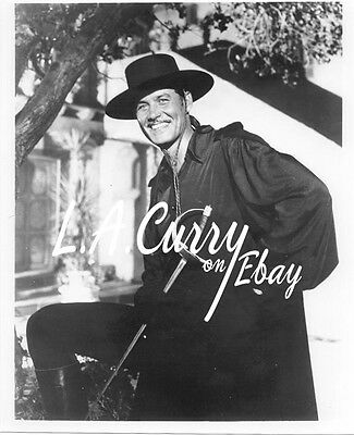Guy Williams Zorro Unmasked Handsome On Set Photograph