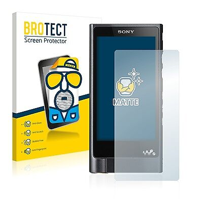 2x BROTECT Matte Screen Protector for Sony Walkman NW-ZX2 Protection Film