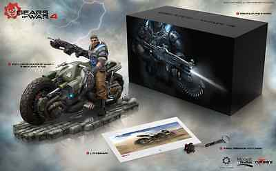 Gears Of War 4 Collectors Edition Bnib Free  P&p Bike Statue  Keyring - No Game