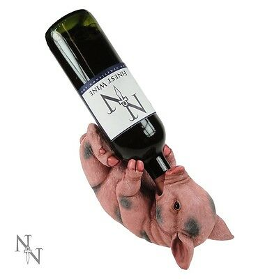 Pig Guzzler Wine Bottle Holder Funny Animal Lovers Quirky Gift Guzzlers