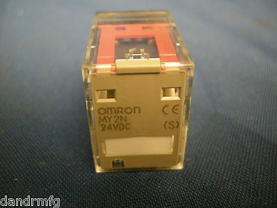 New Omron My2N 24Vdc Relay Switch Plug In For Plc Control Machine Shop