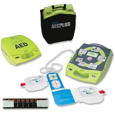 ZOLL AED Plus with NEW Case, Pads, Batteries