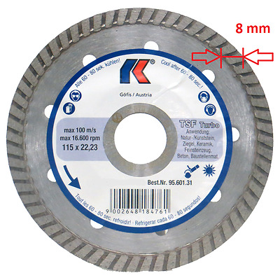"""4.5"""" Diamond Blade For Angle Grinder Porcelain Marble Granite Stone Cutting Disc"""