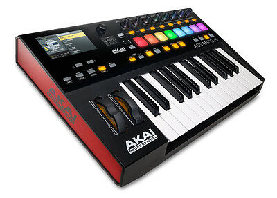 Akai Advance 25 (25-Key MIDI Keyboard with VST Sounds)  NEW!