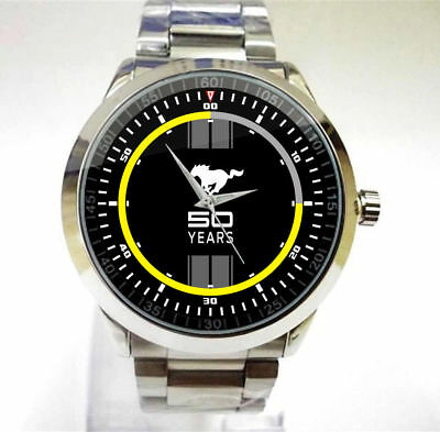 Special 2017 FORD FOCUS ST RACING CAR FORD Car Merch Logo Sport metal watch