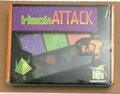 Board Game Hack Attack Virus 2000 Gamewright Sealed Brand NEW!