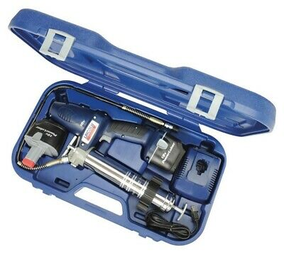 Lincoln 18 Volt Cordless Grease Gun with 2 Batteries 1844