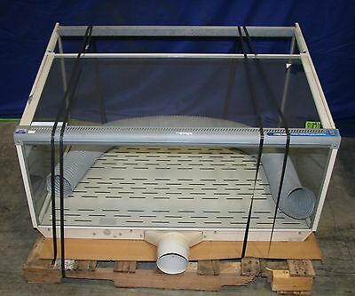 (1) Used Labconco Class 1 Safety Enclosure Biological Fume Hood 16810