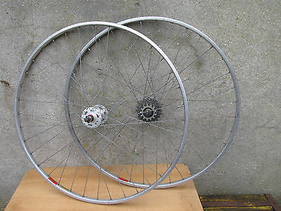 Normandy Luxe Competition Roues Jante Mavic Velo Vintage Bicycle Wheelset 700