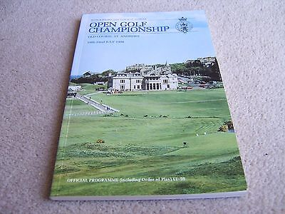 1990 Programme Open Golf Championship, Old Course St Andrews Scotland