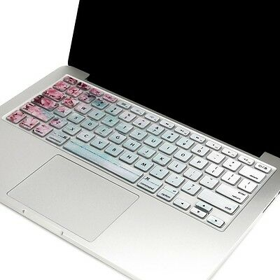 "Pink Hyacinth Keyboard Skin Cover for Macbook Pro 13"" 15"" 17""/New Air 13"""