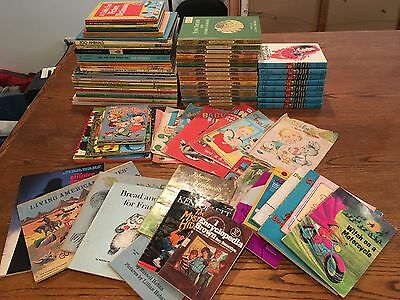 Vintage Lot of 84 Collectible Children's Books Hardy Boys Big Golden Cloth