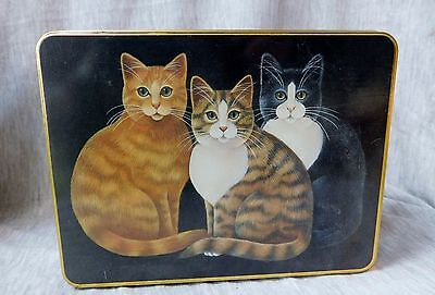Cat Tin-Note Cards-Case Stationery-Stephen Lawrence Co.-Cats