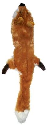 Ethical Pet Spot Mini Skinneeez Forest Fox 14 inch | Plush Stuffing-Free Dog Toy