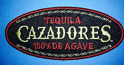 Cazadores 100% Agave Tequila Alcohol Hat Jacket Hoodie Workshirt Patch Crest