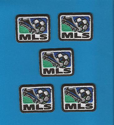 5 Lot MLS Logo Soccer Sew On Youth Jersey Sew On Shoulder Patches Crests