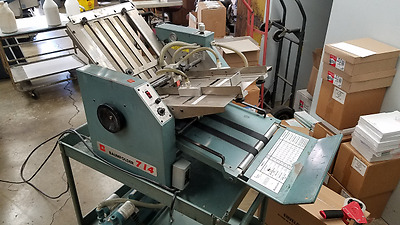 Baum 714 Air Feed Paper Folding Machines