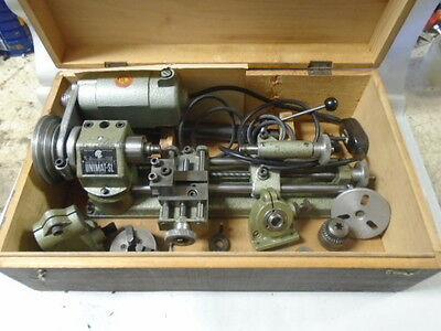 MACHINIST LATHE MILL Machinist Unimat Jewelers Hobby Lathe Micro