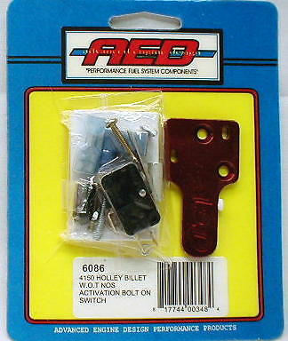 AED Nitrous Wide Open Throttle Activation Switch NOS Holley Carb 4150 Carburetor
