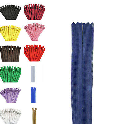 10pcs Nylon Coil Zippers Tailor Sewer Craft 12 Inch (30cm)Crafter's ITBU