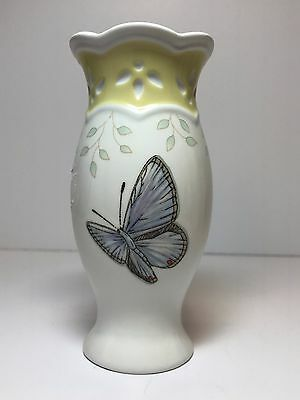 "Lenox Butterfly Meadow Small Vase 4 3/4"" high"