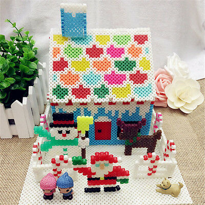 1000pcs HAMA/PERLER Beads for GREAT Kids Fun DIY Craft 17 Colors 2.6/5 mm