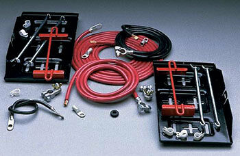Taylor 48600 Dual Pro Battery Relocation Kit with Cable