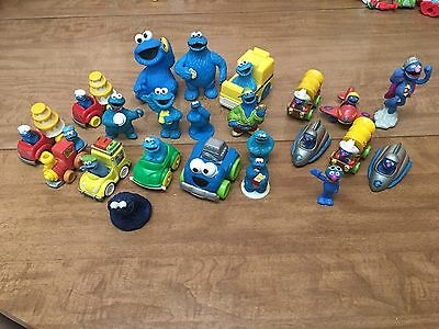 Huge Lot Of Sesame Street Cookie Monster and Grover